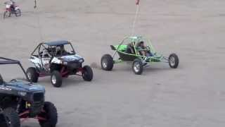 Turbo Hayabusa sand rail vs Turbo RZR 900 Packard Performance