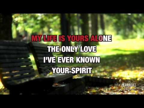 My Everything in the style of 98° | Karaoke with Lyrics