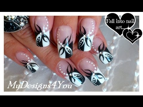 Tattoo Nail Art | Abstract  Nails ♥  Дизайн Ногтей