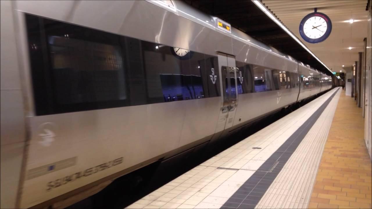 tåg från helsingborg till stockholm