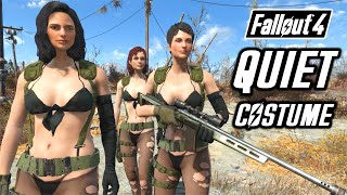 FALLOUT 4 - MGS5 QUIET COSTUME - COMPANIONS COSPLAY - ZGC Quiet Outfit