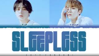 WayV 'KUN & XIAOJUN' - 'SLEEPLESS' (夜未眠) Lyrics [(Color Coded_Chin_Pin_Eng]