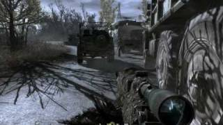 Re: Call of Duty 4 - All Ghillied Up - Killing the Convoy