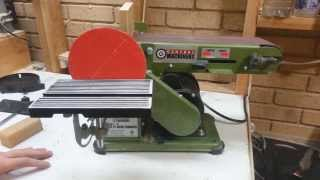 Harbor Freight Belt Disc Sander Central Machinery