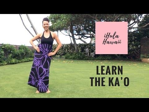 LEARN BASIC HULA MOVES. THE HULANESIAN AMI - YouTube