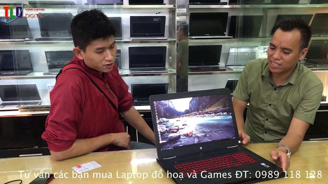 Khám Phá Chiếc Laptop Đồ Hoạ Gaming HP Omen 17 VGA GTX 1070 Màn Hình 4K