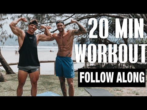 20 MIN FULL BODY WORKOUT || No Equipment