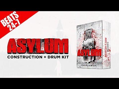 "Beat Construction + Drum Kit (MIDI Loop Pack) - ""Asylum"""