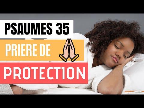 Psaumes 35 Prière de Protection - Versets Bibliques pour Dormir, avec son de la Pluie