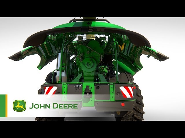 John Deere - Série 8000 - entretien facilité