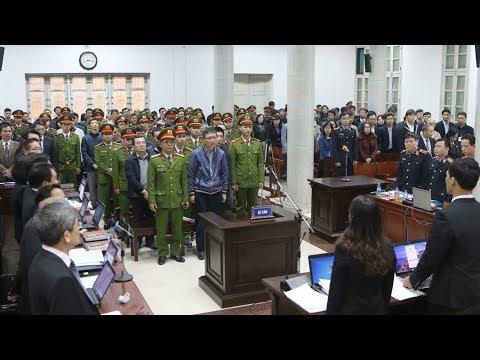 Đại án PVN: Đinh La Thăng lãnh án 13 năm tù, Trịnh Xuân Thanh chung thân