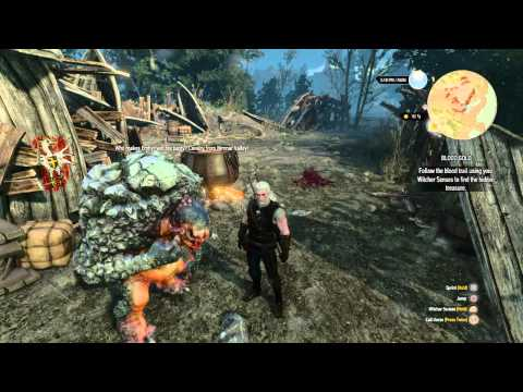 The Witcher 3: Rock troll singing