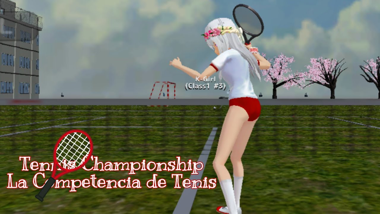 The wrost Player 🎾 La peor Jugadora [School Girls Simulator]