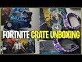 *NEW* BATTLE ROYALE CRATE UNBOXING! (Fortnite, PUBG & More!)