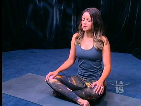Yoga Exercises by Enthusiast Leslie Anne Huff