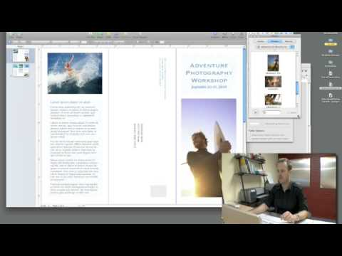 Using Apple\u0027s Pages for brochure creation - YouTube