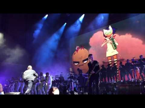 GORILLAZ - (CHICAGO) HUMANZ TOUR 2017