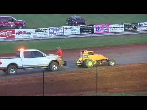 SPRINT CAR A MAIN at BLOOMINGTON SPEEDWAY 7-13-18