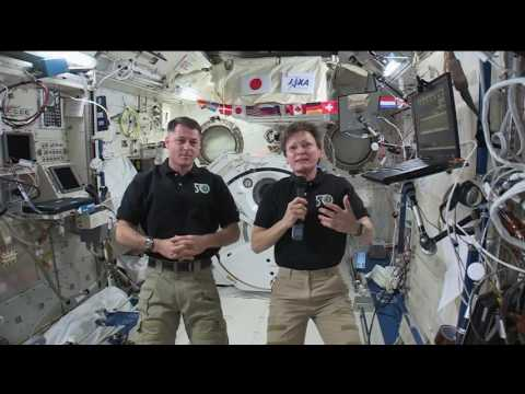 Space Station Astronauts Talk with West Virginia Students