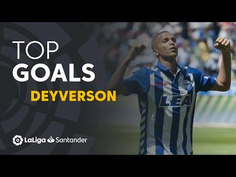 TOP Goles Deyverson LaLiga Santander