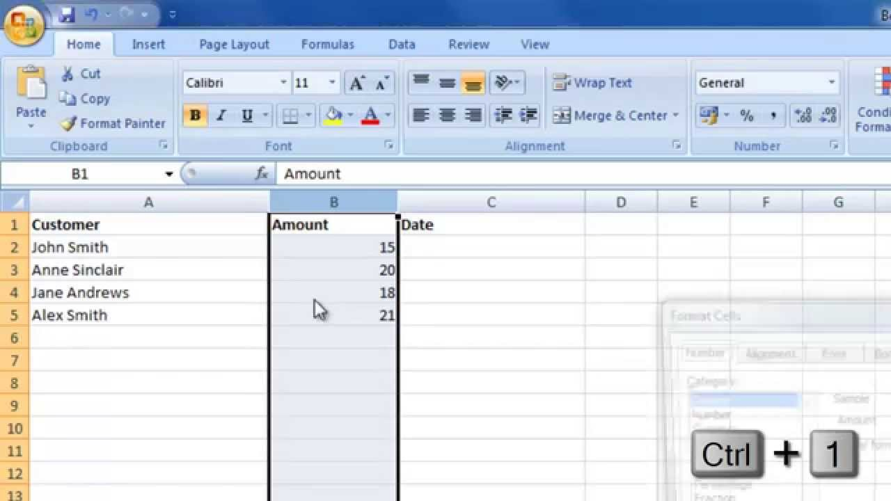 Microsoft Excel Creating An Income Expenditure Spreadsheet By