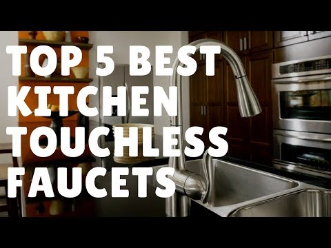 top-9-best-touchless-kitchen-faucets-2018-—-reviews