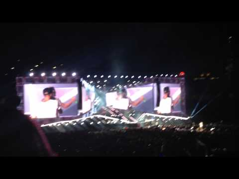 One Direction - Performing Little Black Dress - Nationals Park, DC - August 11th,2014