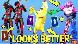 TOP 50 FORTNITE SKINS LOOKS BETTER WITH THESE DANCES & EMOTES.! (Fortnite Battle Royale)
