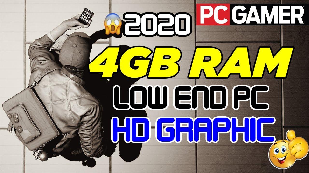 4gb ram pc games free download