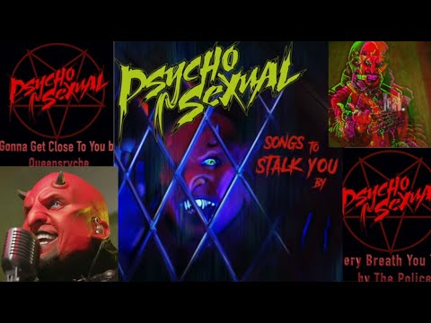 """Psychosexual feat ex-5FDP's Jeremy Spencer new covers EP """"Songs To Stalk You By"""" feat. Jason Hook"""