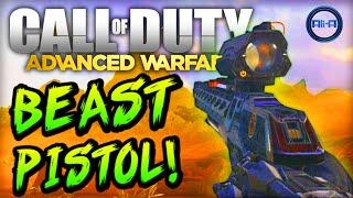 beast pistol call of duty advanced warfare multiplayer gameplay cod 2014
