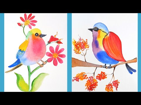 Watercolour Mixing Tutorials | Water Colour Painting For Beginners |  @Tiny Prints Art Academy