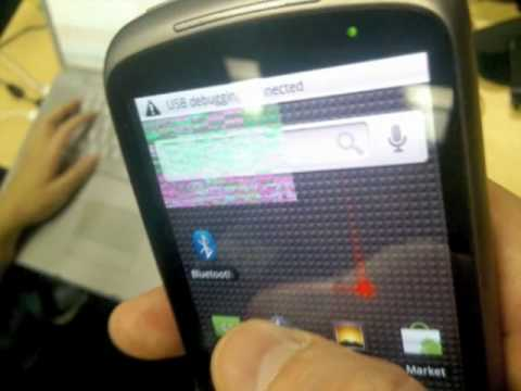 HTC Nexus One / New Google Phone First Real Photos Android 2.1