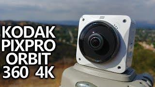 Kodak Pixpro Orbit360 4K Review: 3 Action Cameras in One!