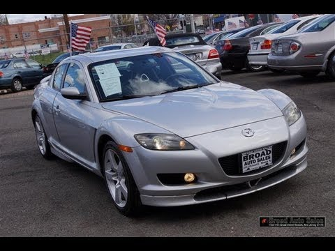 2004 Mazda RX-8 Touring Package with Navigation