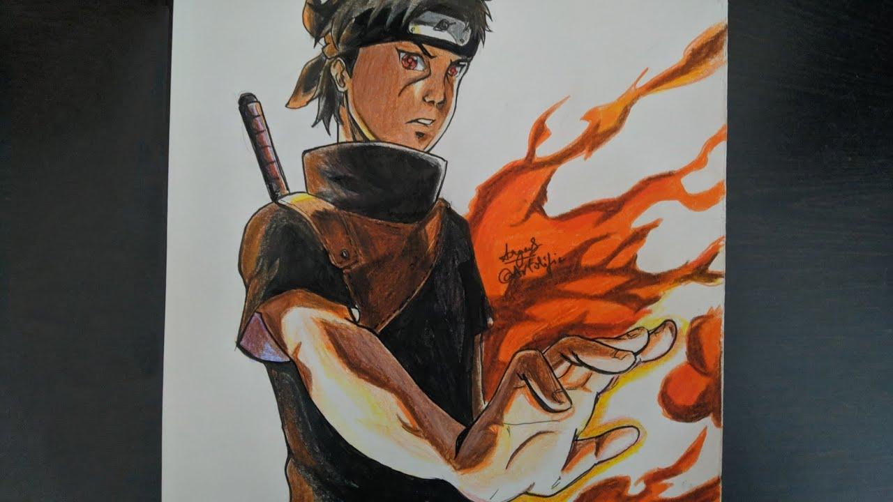 Drawing Shisui Uchiha from Naruto Shippuden - YouTube