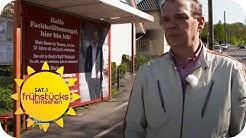 Bewerbung per Plakat: Thomas´ Weg aus der Arbeitslosigkeit? | SAT.1 Frühstücksfernsehen