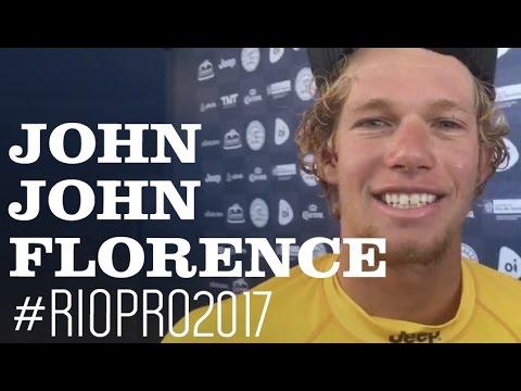 John John Florence comenta sobre o carinho da torcida brasileira
