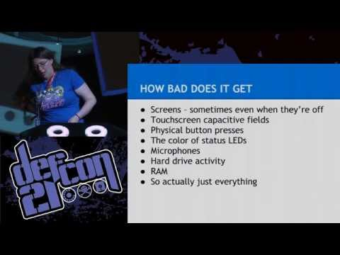 Defcon 21 - Noise Floor: Exploring the World of Unintentional Radio Emissions