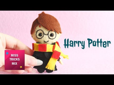 Harry Potter Felt Plush | Halloween Crafts.
