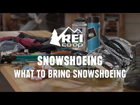 What to Bring Snowshoeing