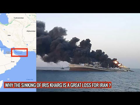 IRIS Kharg sunk in Gulf of Oman - major blow for Iran's Navy | Israeli action cannot be ruled o