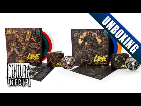 GRAVE - Dominion VIII // Burial Ground Re-Issues (Unboxing)