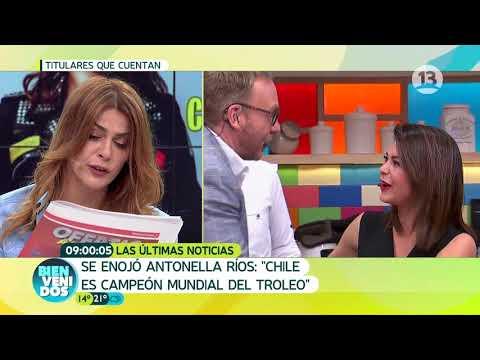 Antonella Ríos se enoja por críticas | Bienvenidos