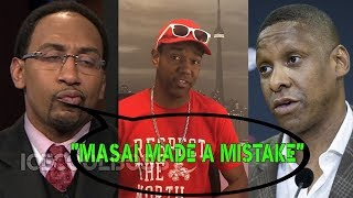 "Stephen A Smith ""MASAI MADE A MISTAKE"" 