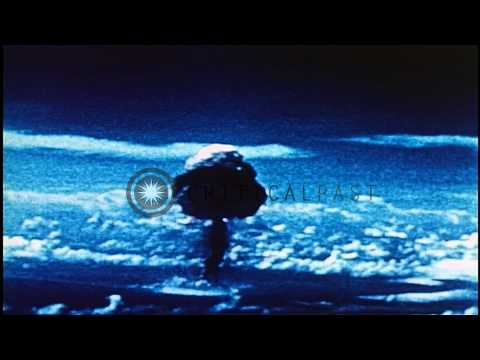 United States Nuclear Test Operation Ivy:  King test HD Stock Footage