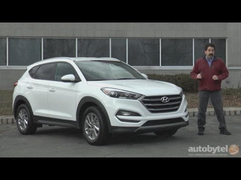2016 Hyundai Tucson Eco Test Drive Video Review