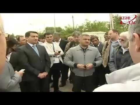 Representatives of diplomatic corps accredited in Azerbaijan visit frontline