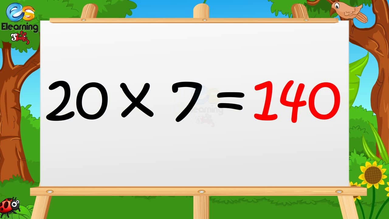 Learn Multiplication Table Of Twenty 20 X 1 20 20 Times Tables