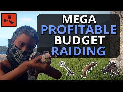 EOKA And KEY Raiding For MEGA PROFIT!!! Rust Solo Survival Gameplay